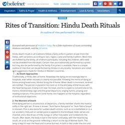 Rites of Transition: Hindu Death Rituals - Beliefnet