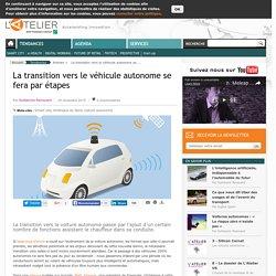La transition vers le véhicule autonome se fera par étapes