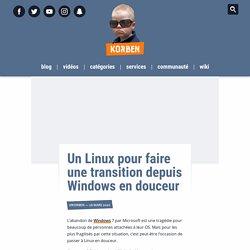 Un Linux pour faire une transition depuis Windows en douceur