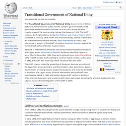 Transitional Government of National Unity