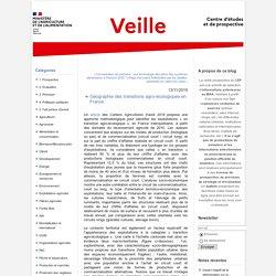 MAA CEP 13/11/19 Géographie des transitions agro-écologiques en France