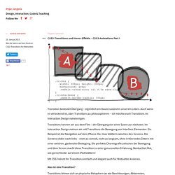 CSS3-Transitions und Hover-Effekte – CSS3-Animations Part I