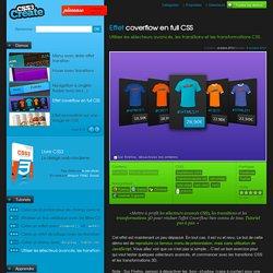 Effet coverflow en full CSS - Utiliser les sélecteurs avancés, les transitions et les transformations CSS.