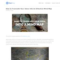 How to Translate Your Ideas Into An Effective Mind Map — Prezi Blog