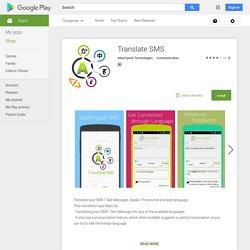 Translate SMS