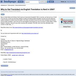 What Professional Ways to English Translation Easily and Efficiently