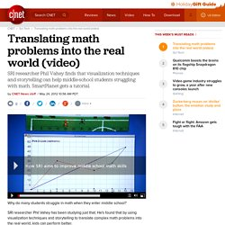 Translating math problems into the real world (video) | Cutting Edge