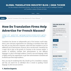 How to Certified French Translation Helps to Boost Business?