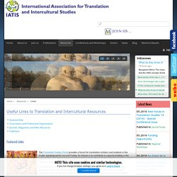 Useful Links to Translation and Intercultural Resources