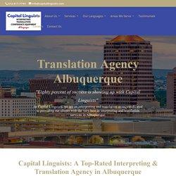 Top Interpreting & Translation Services