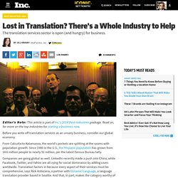 Why Translation Services Is a Top Industry to Start a Business
