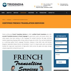 How to Translation Services in French Can Help Your Company?