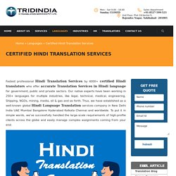 How to Certified Hindi Translation Can Be Beneficial in Gujarat?