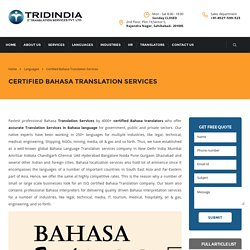 Why You Must Get Bahasa Translation To Grow Business?