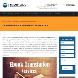 How Ebook Translation Services Get Customers For You?