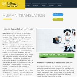 Translation by Human Translator