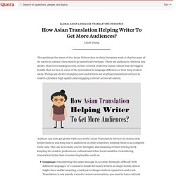 How Asian Translation Helps To Capture Audience Towards Business?