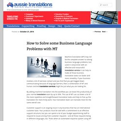 Aussie Translations-A leading translation agency in Australia