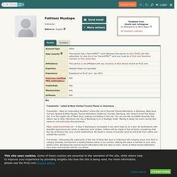 Fathlani Mustopa - translator / interpreter / ProZ.com user