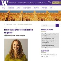 From translator to localization engineer