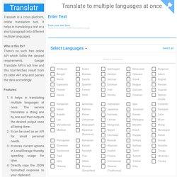 Translatr