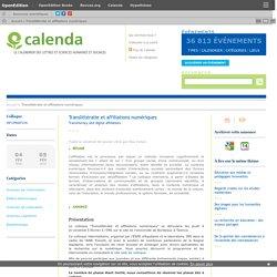 Translittératie et affiliations numériques