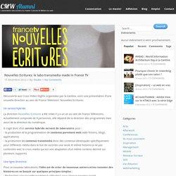 Association des Anciens Elèves du Master Culture et Métiers du Web