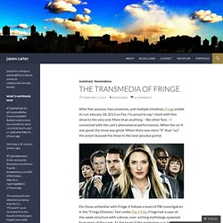 the transmedia of fringe
