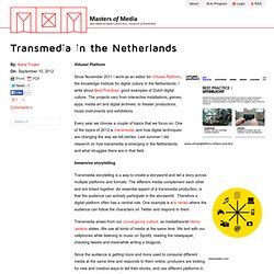Transmedia in the Netherlands