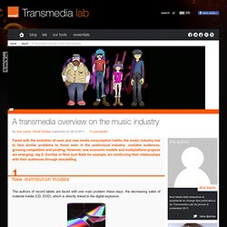 Study cases : a transmedia overview on the music industry
