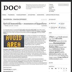 Spécial transmédia – ressources et hyperliens