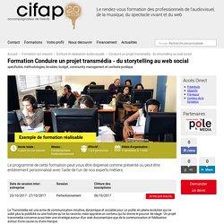 Conduire un projet transmédia - du storytelling au web social