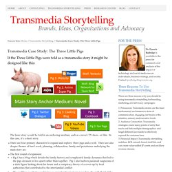 Transmedia Case Study: The Three Little Pigs