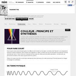 nůn {atelier de design graphique} - Transmettre - Espace pédagogique - fondamentaux - Couleur: principe et synthèses