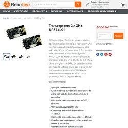 Transmisor y Receptor inalámbrico 2.4GHz - México— RoboTec