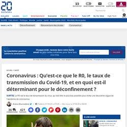 Coronavirus: Qu'est-ce que le R0, le taux de transmission du Covid-19, et en quoi est-il déterminant pour le déconfinement?...