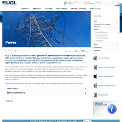 Power Generation, Transmission & Distribution Services