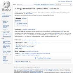 Message Transmission Optimization Mechanism