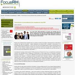 Transmission et renouvellement des compétences chez EDF