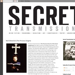 Secret Transmissions: Neil Edwards & The Process Enigma
