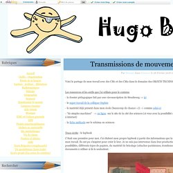 Transmissions de mouvements - cycle 3 - Hugo bosse !