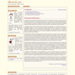 La Télépathie / Transmissions télépathiques