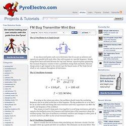 FM Bug Transmitter Mint Box - Theory