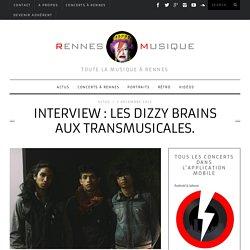 Interview : les Dizzy Brains aux Transmusicales. - RennesMusique
