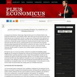 ¿Quién controla la economía mundial? transnacionales