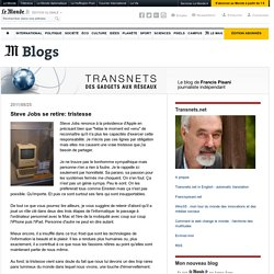 Transnets - Blog LeMonde.fr