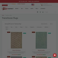 Buy TransOcean Area Rugs Online at Discounted Prices & Free Shipping