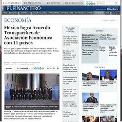 México logra Acuerdo Transpacífico de Asociación Económica con 11 países