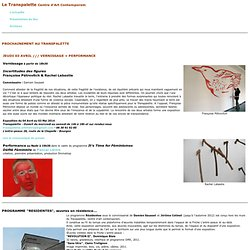 TRANSPALETTE Centre d'Art Contemporain