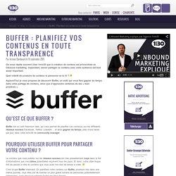 Buffer: Planifiez vos contenus en toute transparence